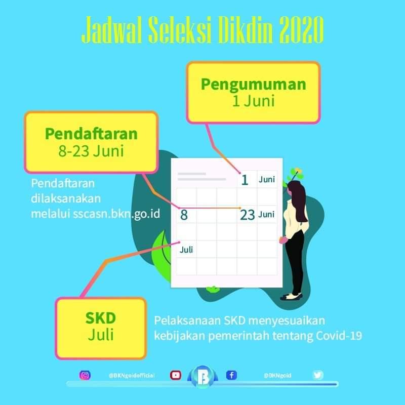 Jadwal Seleksi Sekolah Kedinasan Tahun 2020